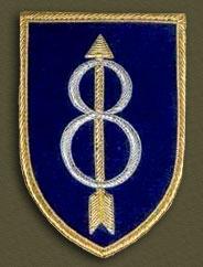 121st Infantry Regiment Unit Crest USAMM